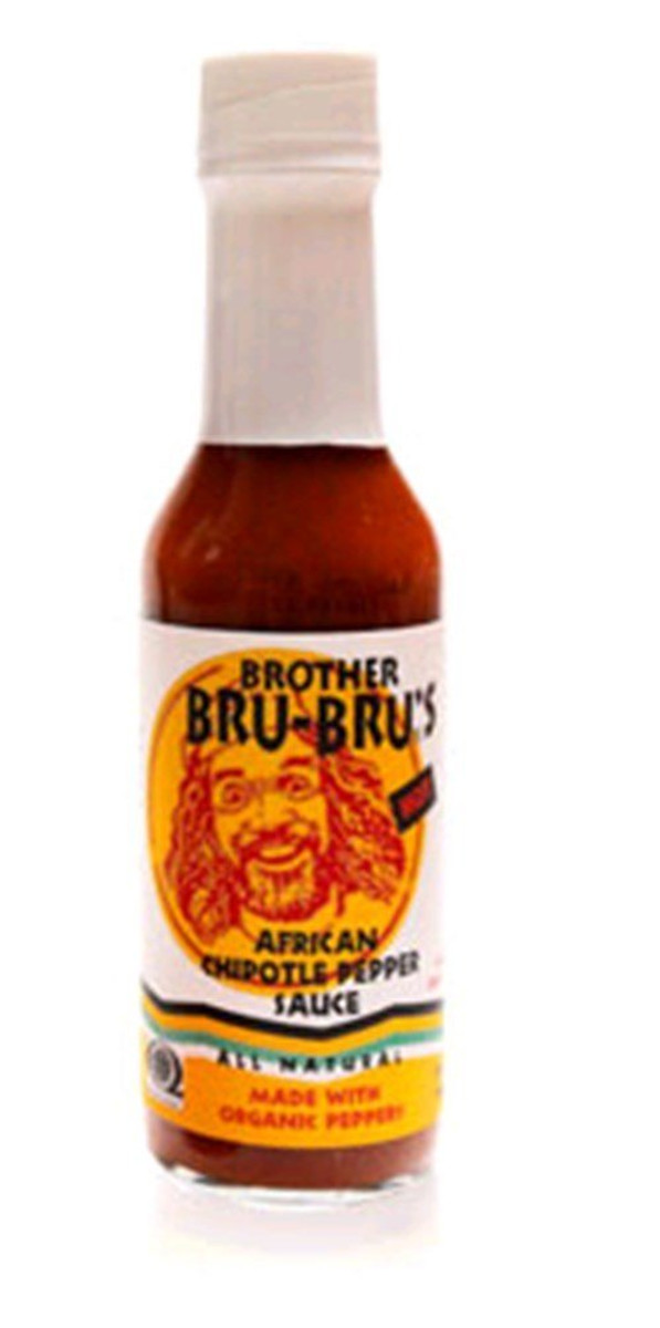 Brother Bru Bru's Organic African Chipotle Pepper Sauce