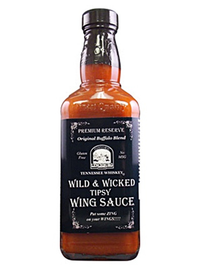 Lynchburg Tennessee Whiskey Wild & Wicked Tipsy Wing Sauce - PepperExplosion.com