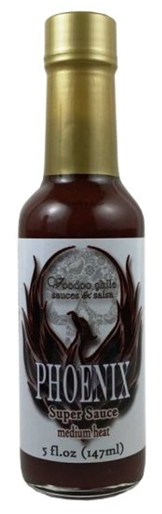 Voodoo Chile Phoenix Super Sauce available at Pepper Explosion Hot Sauce Store