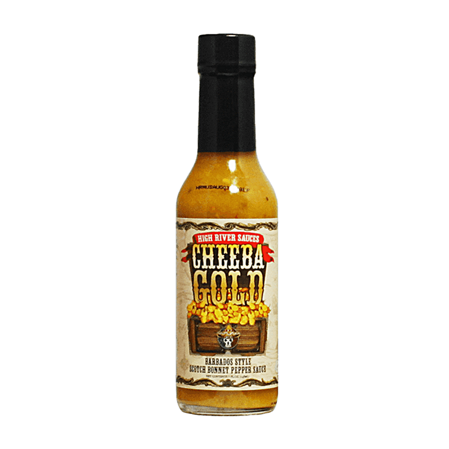 High River Sauces Cheeba Gold Barbados - Pepper Explosion