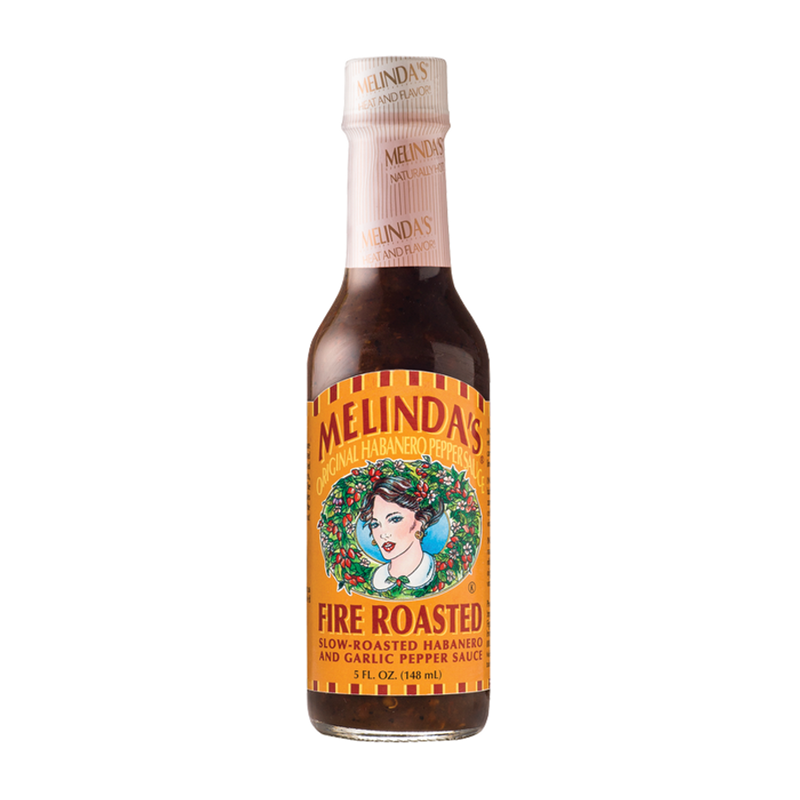 Melinda's Fire Roasted Hot Sauce - buy your bottle at Pepper Explosion