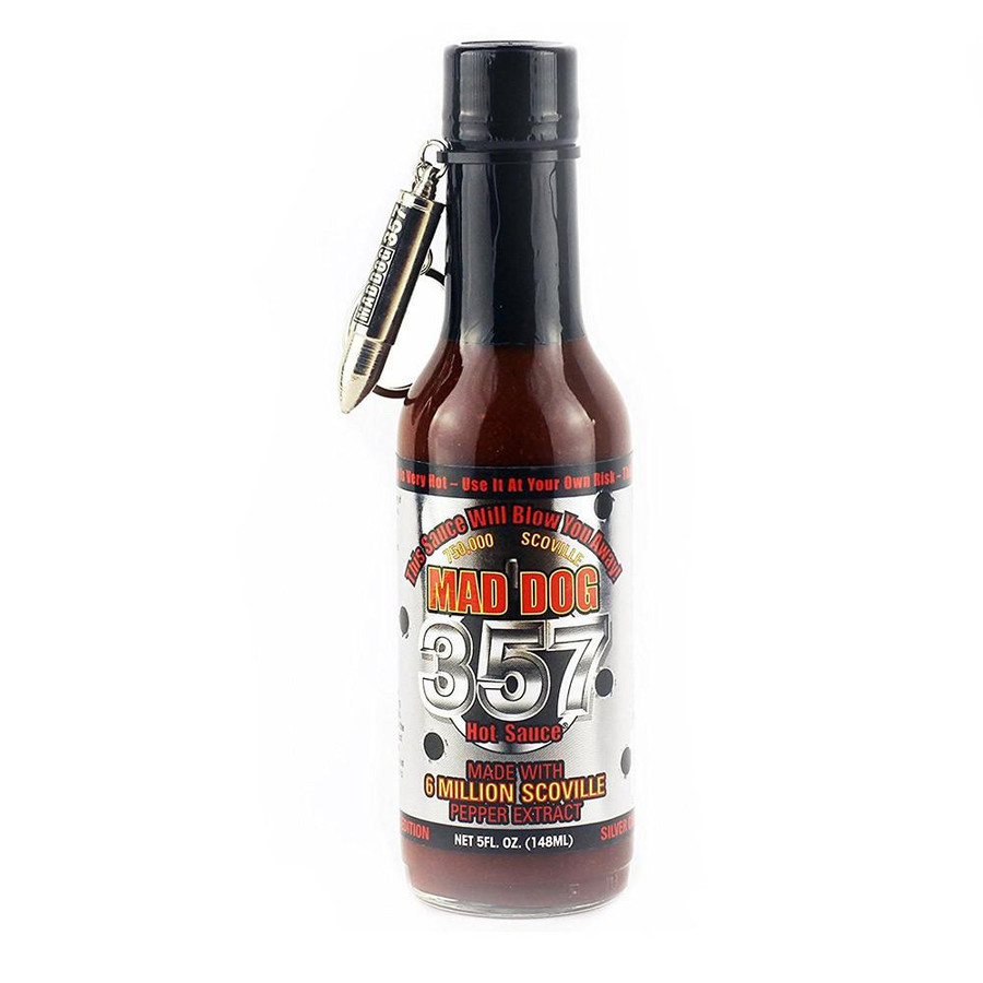 Mad Dog 357 Hot Sauce Silver Collector's Edition