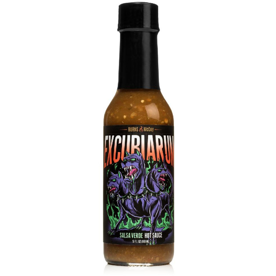 Excubiarum Verde Hot Sauce - buy your bottle online at Pepper Explosion