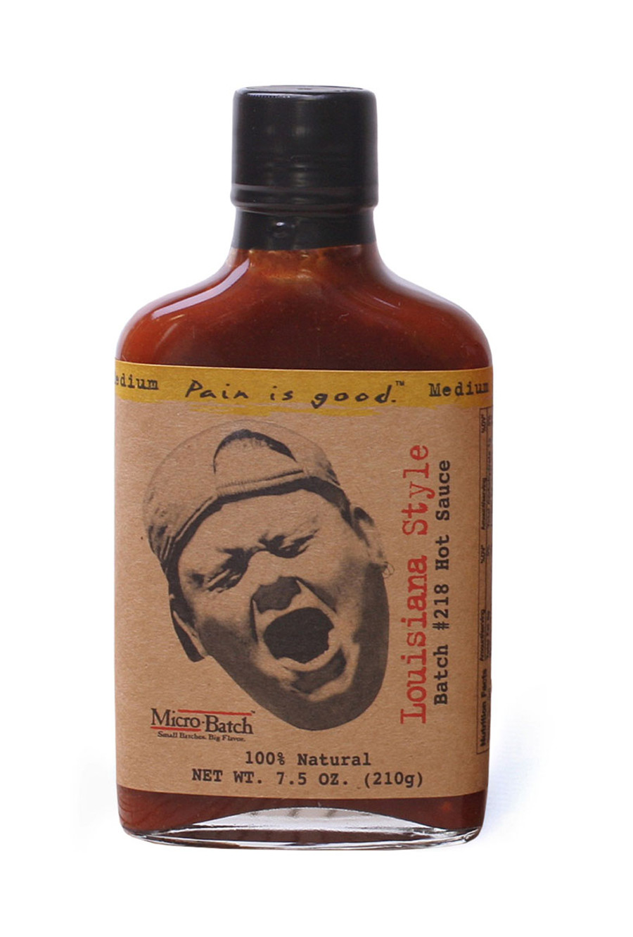 is Good Louisiana Style Hot Sauce as seen on Hot Ones and sold by Pepper Explosion