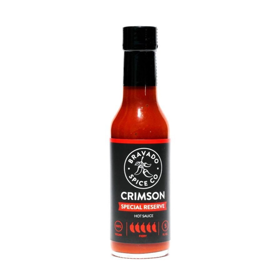 Crimson Special Reserve Sauce available online at Pepper Explosion Hot Sauce Store