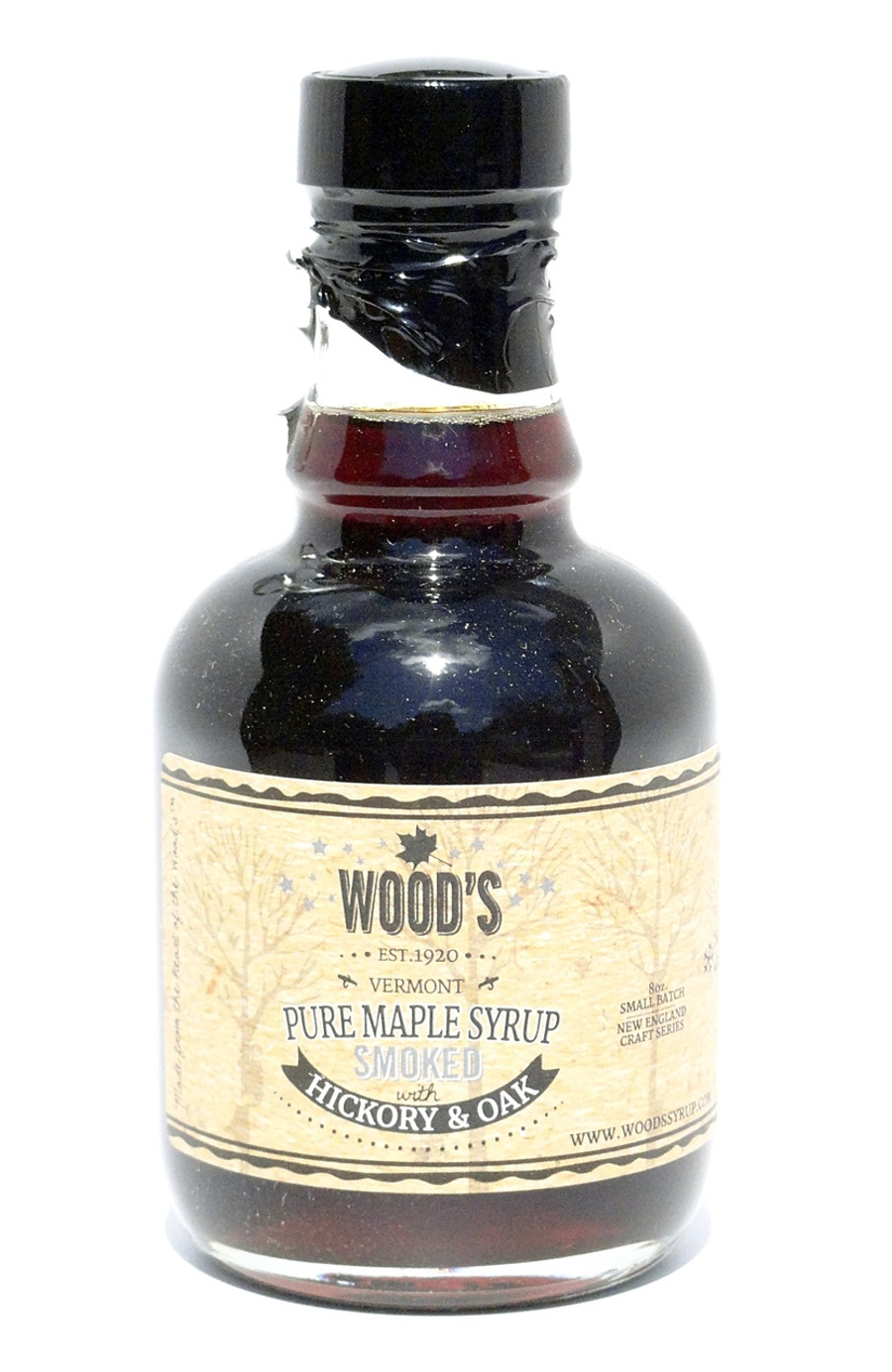 Wood's Smoked Maple Syrup