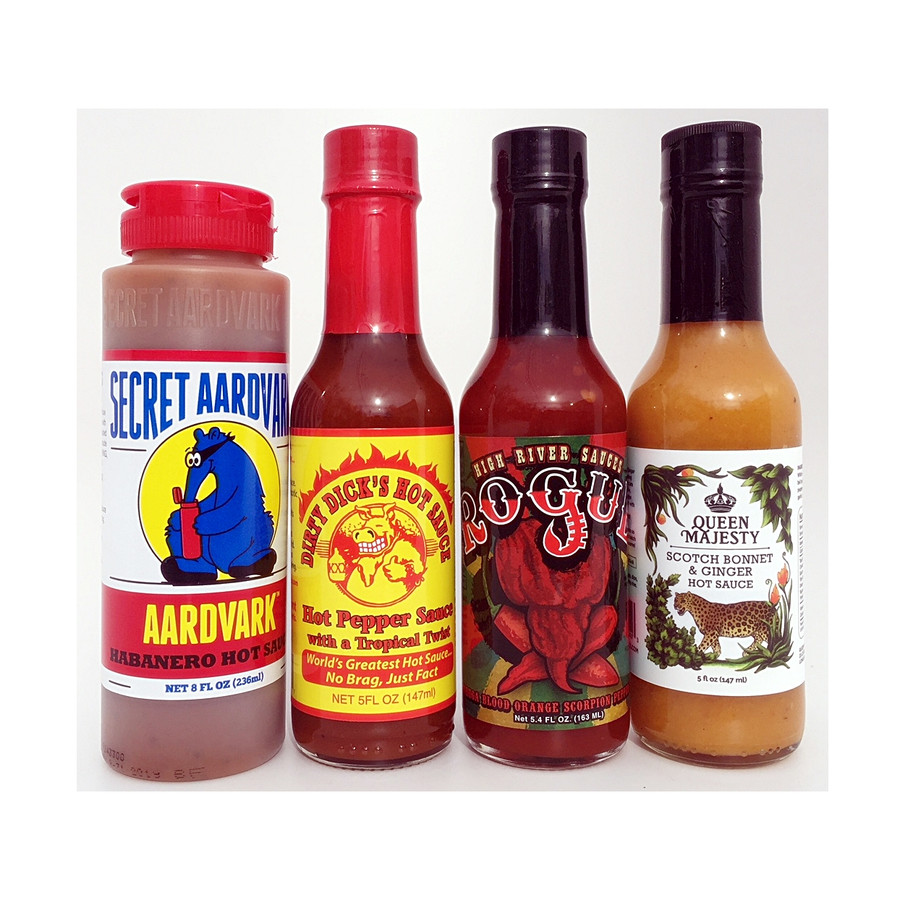 Best Sellers from the Hot Ones Series available now at Pepper Explosion