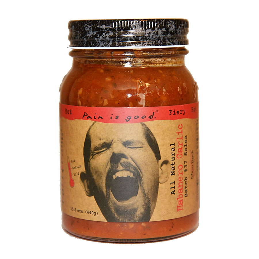 Pain is Good Habanero Garlic Salsa - Pepper Explosion Hot Sause Super Store