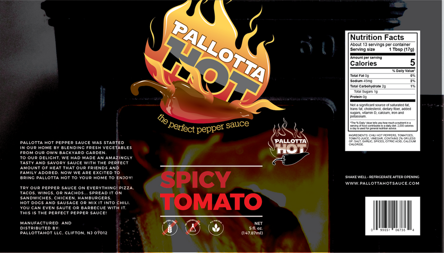 Pallotta Hot Spicy Tomato