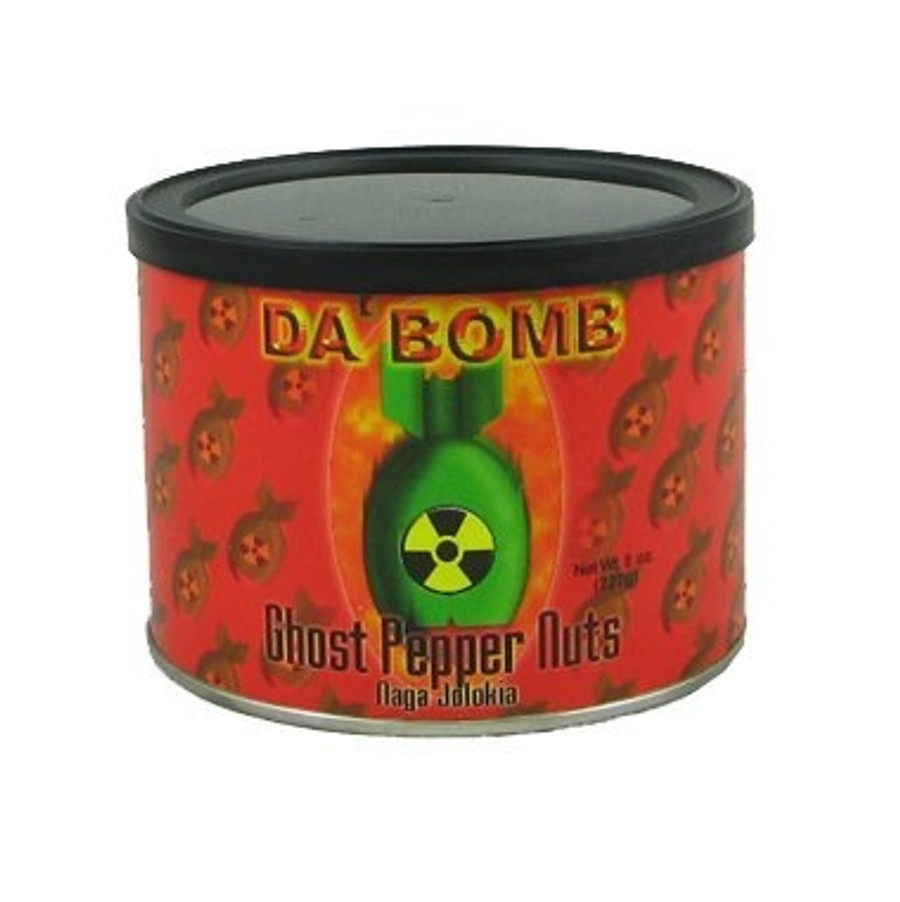 Da Bomb Ghost Pepper Nuts available at PepperExplosion.com