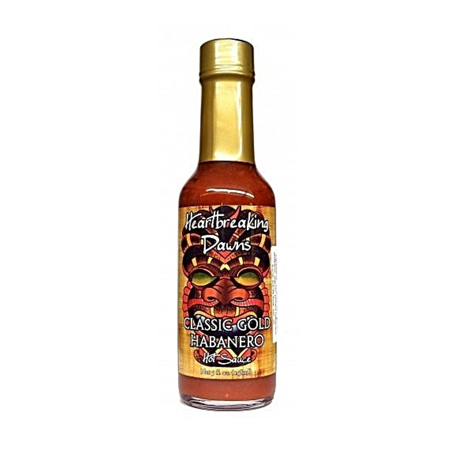 Heartbreaking Dawn's Classic Gold Hot Sauce - Pepper Explosion