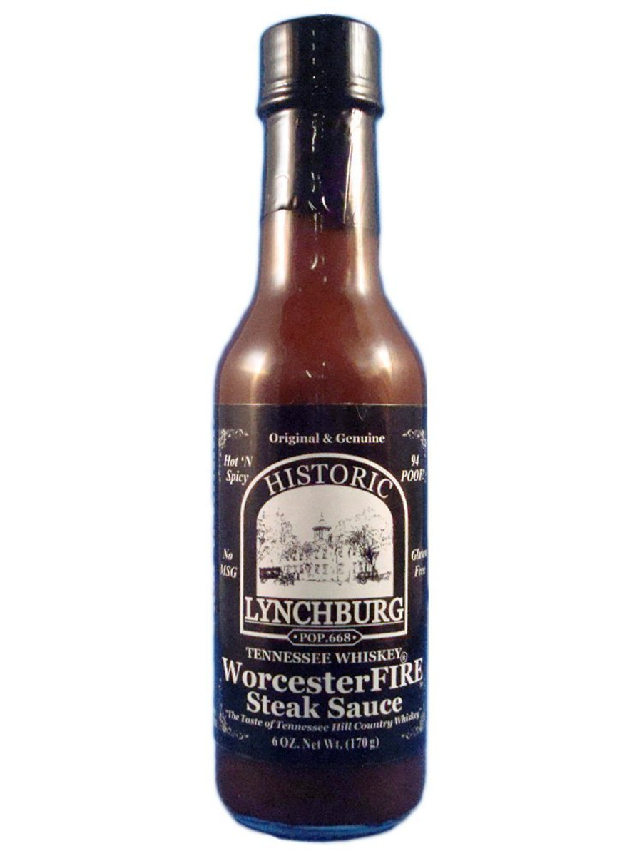 Lynchburg Tennessee Whiskey WorcesterFIRE Steak Sauce