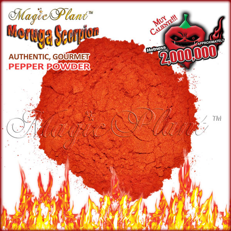 Moruga Scorpion Powder - 1/2oz in a plastic Jar