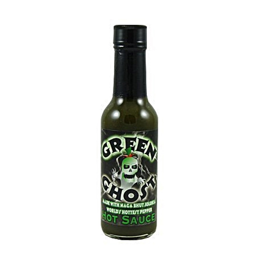 Green Ghost Pepper Hot - buy online at PepperExplosion.com