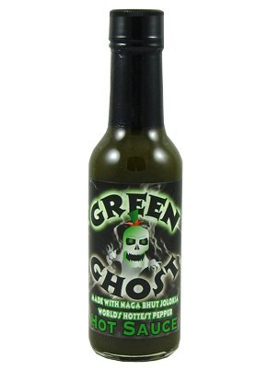 Green Ghost Pepper Hot Sauce
