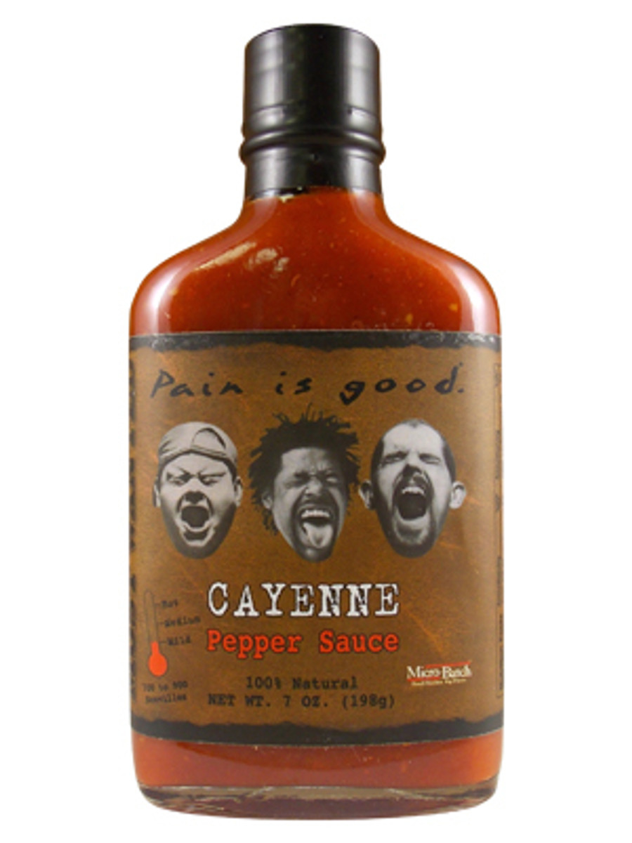 Pain is Good Cayenne Pepper Sauce