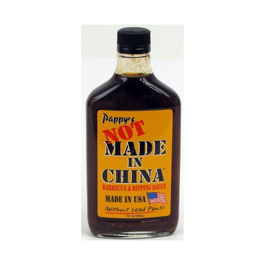 """Pappy's BBQ and Dip Sauce """"NOT MADE IN CHINA""""! - PepperExplosion.com"""