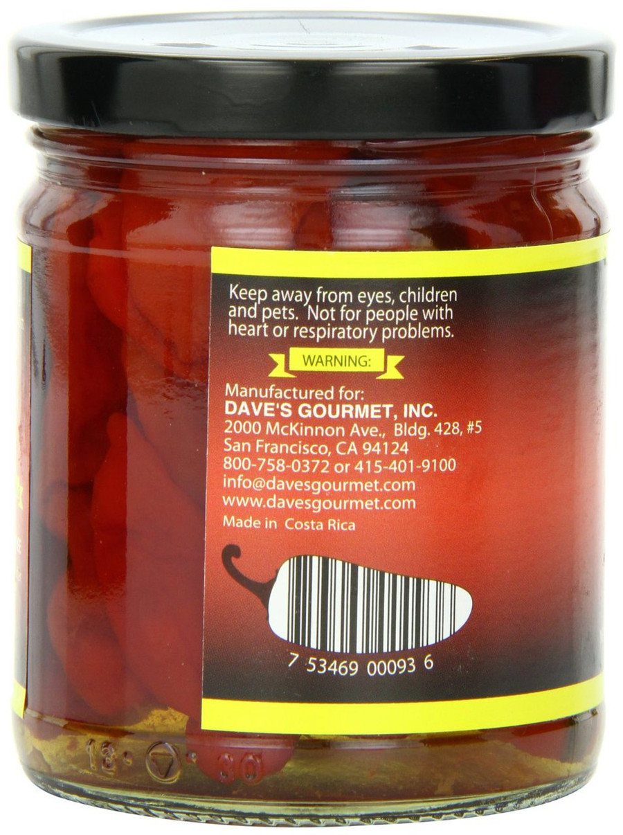 Dave's Gourmet Whole Ghost Peppers