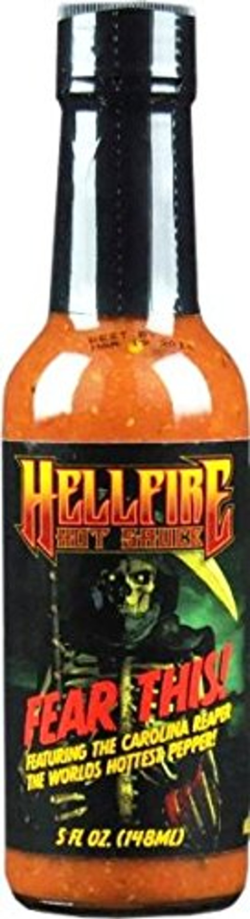 Hellfire's Fear This! Hot Sauce