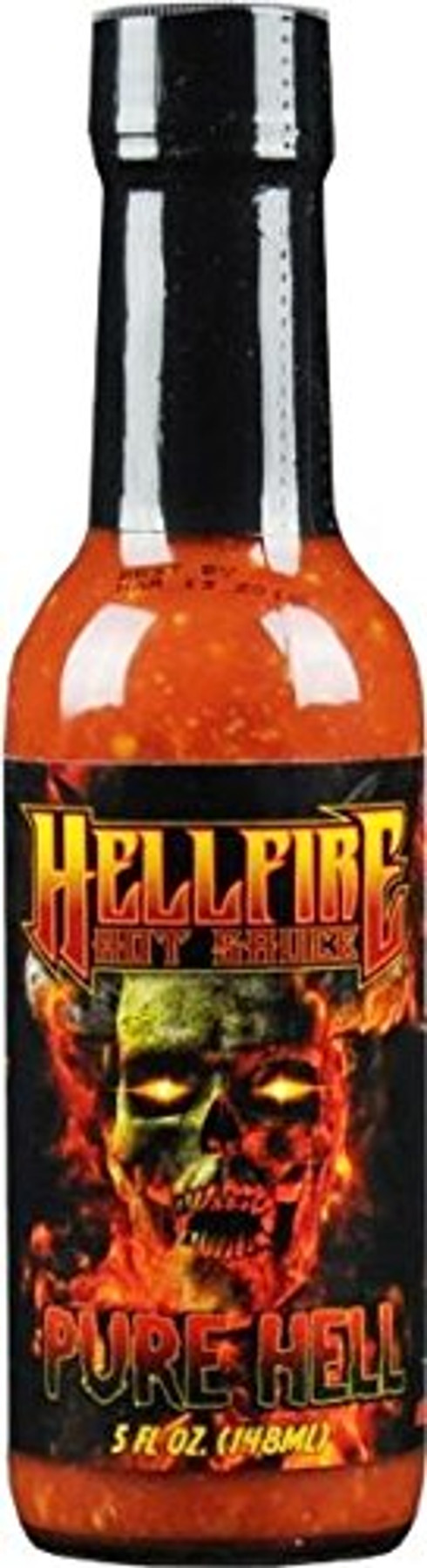 Hellfire's Pure Hell Hot Sauce  - Buys yours at Pepper Explosion