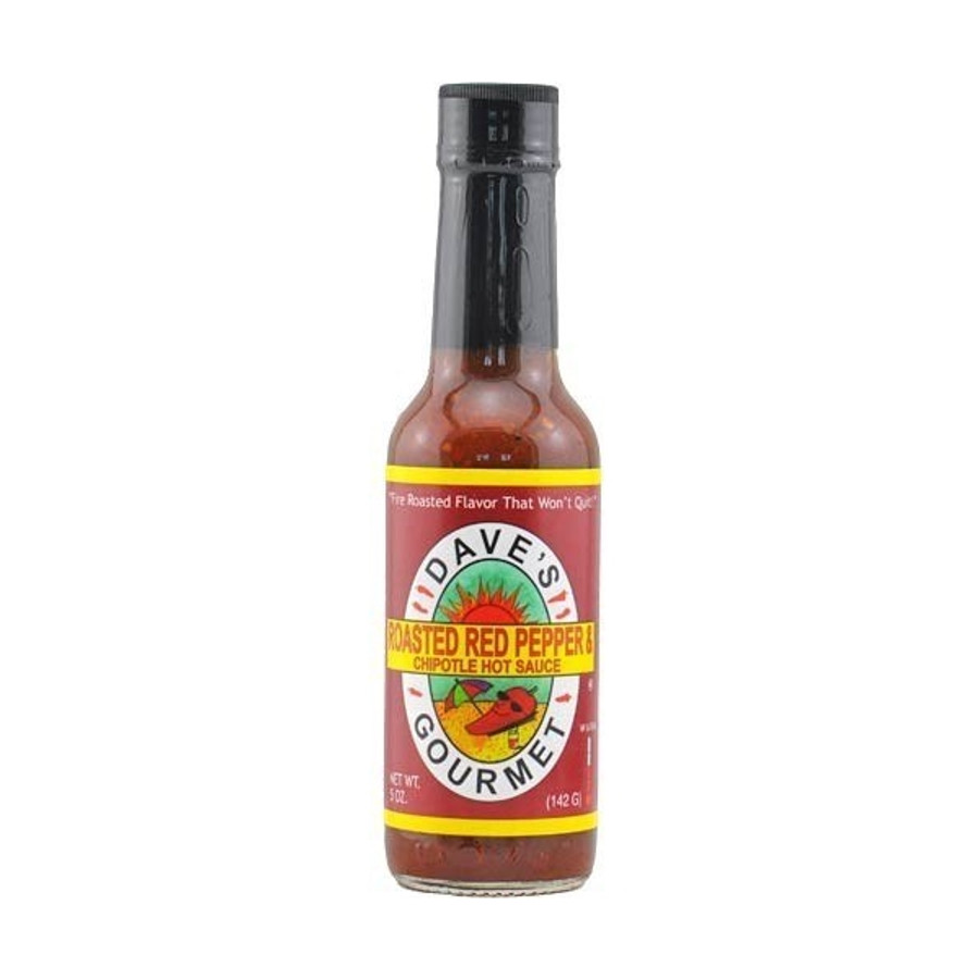 Dave's Roasted Red Pepper & Chipotle Hot Sauce