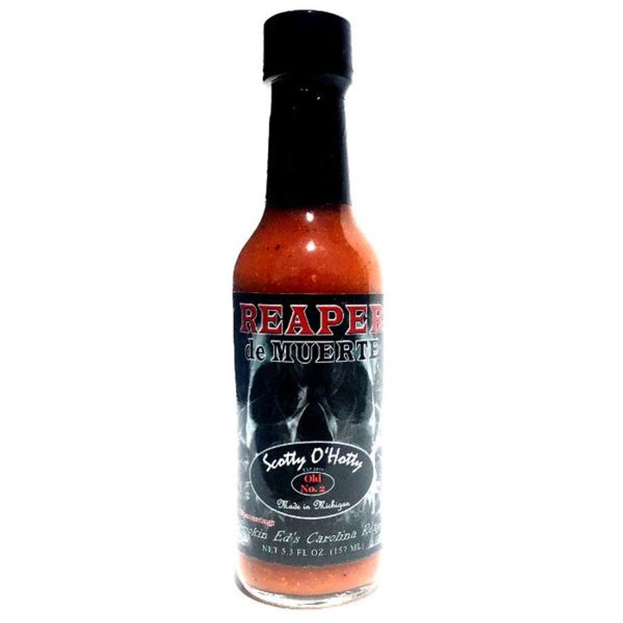 Scotty O'Hotty Reaper de Muerte available online at Pepper Explosion