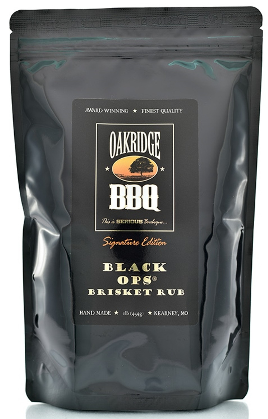 Oakridge BBQ Signature Edition Black OPS Brisket Rub 1lb