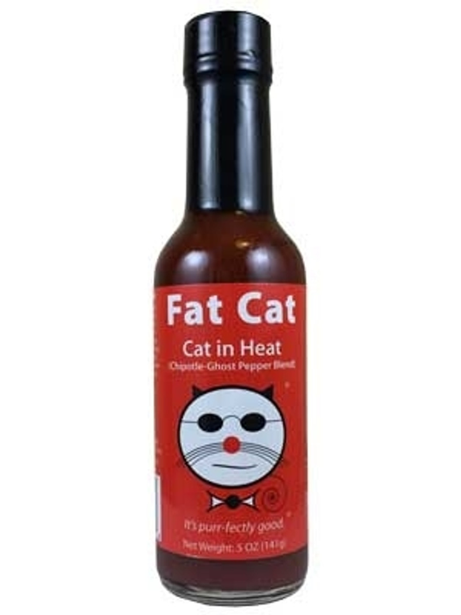 Fat Cat in Heat Hot Sauce - PepperExplosion.com