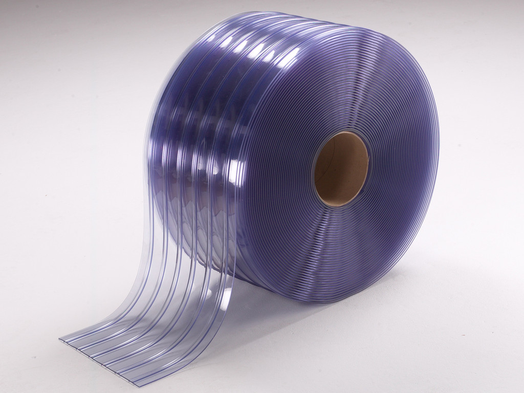 Standard Ribbed PVC Strip Rolls