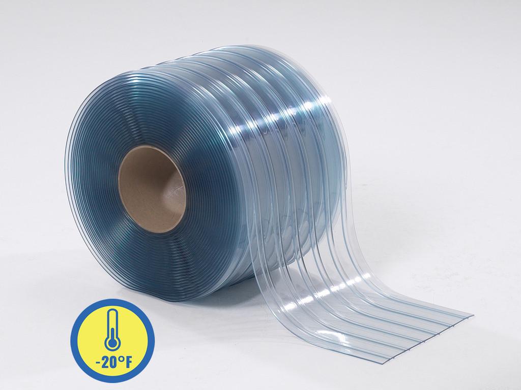 Low Temp Ribbed PVC Strip Rolls