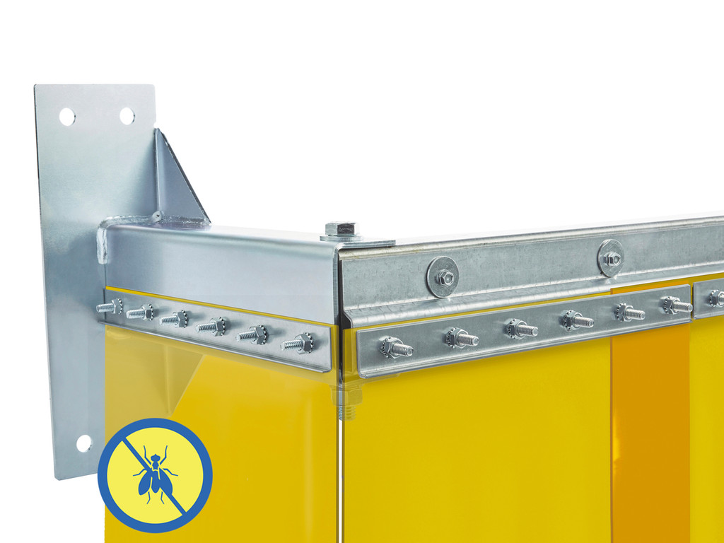 Insect Control Stand-Off Mount Strip Door Kit