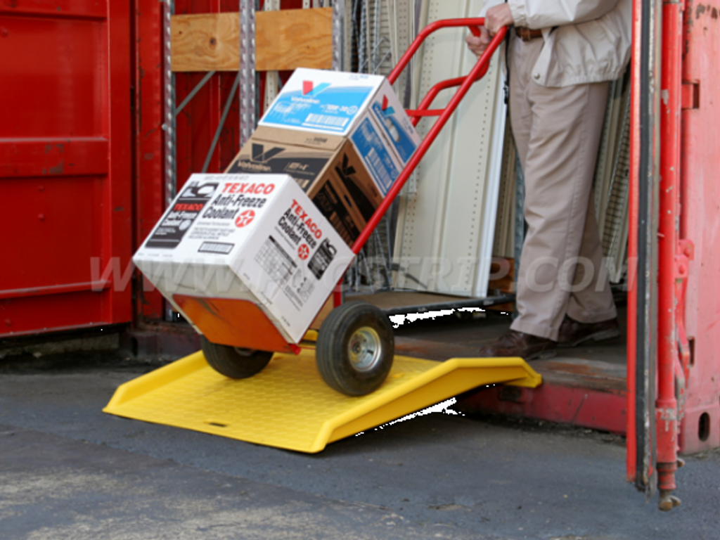 Poly Curb & Shipping Container Ramps