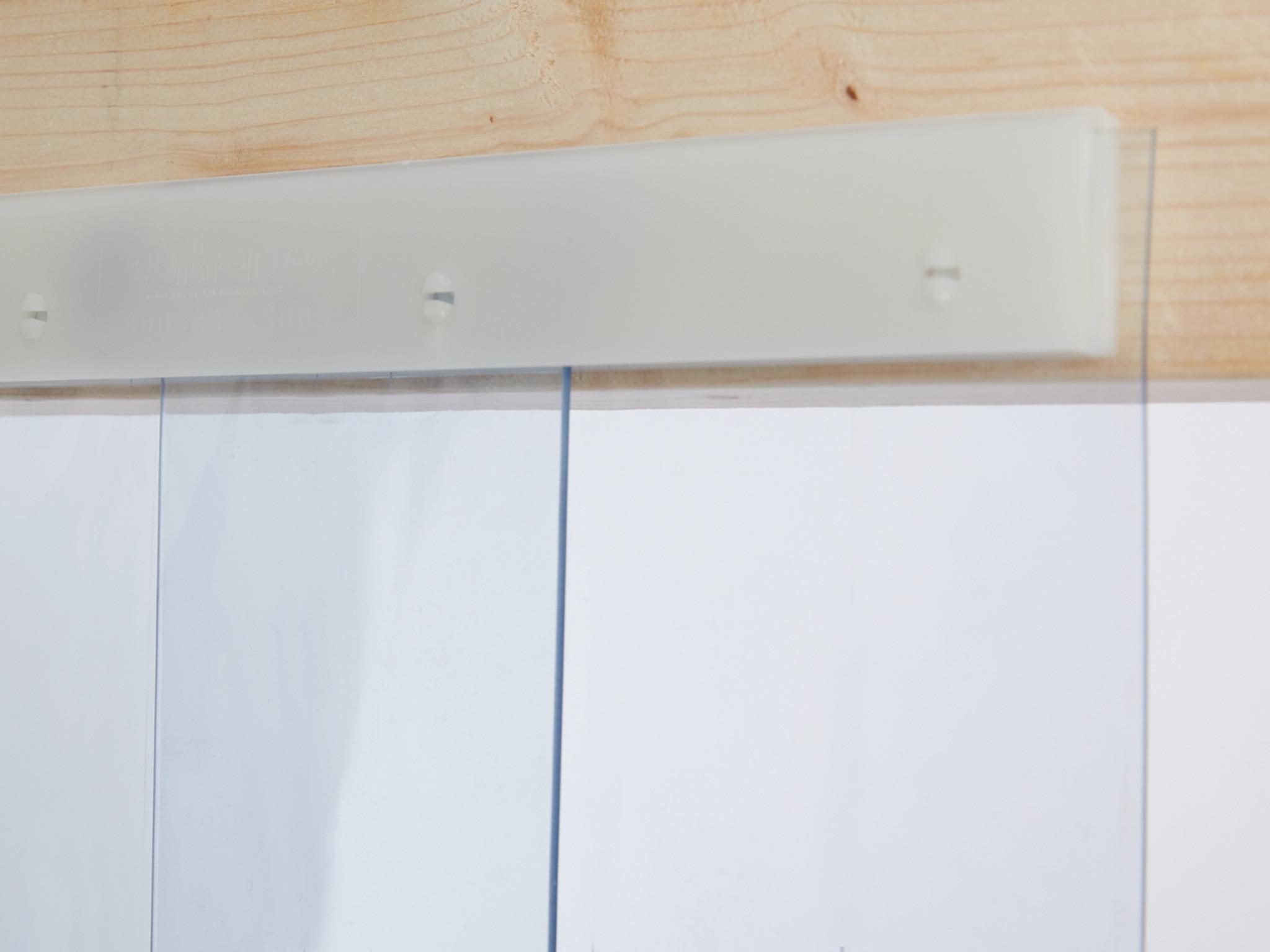 Snap Strip Personnel Door Kit ... & Snap Strip Personnel PVC Strip Door Kit | PVCStrip.com
