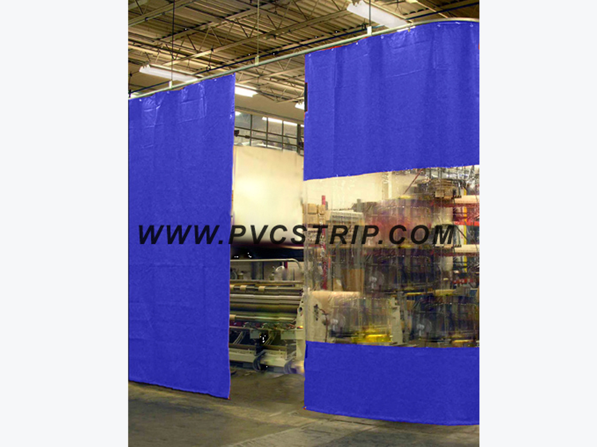 Ready To Ship Industrial Curtain Walls PVCStripcom