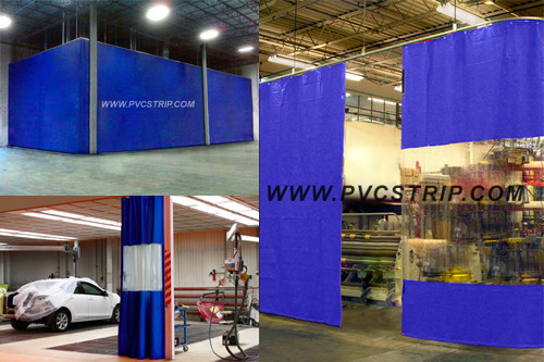 Industrial Curtains & Industrial Curtain Walls |PVCStrip.com