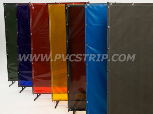 Welding Screens and Curtains | PVCStrip.com