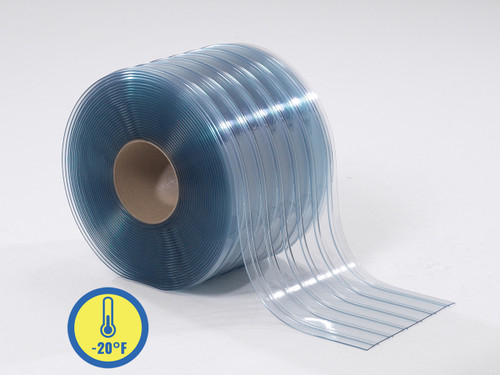 Low Temp Ribbed PVC Strip Rolls