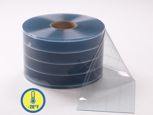 Low Temp Reinforced PVC Strip Rolls