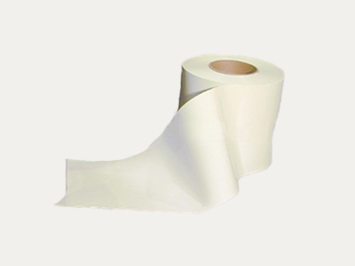 White Smooth PVC Strip Rolls