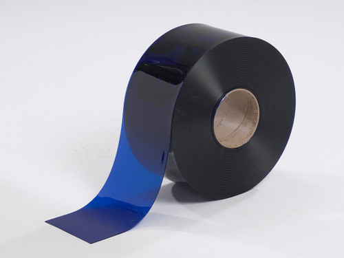 Blue Smooth PVC Strip Rolls