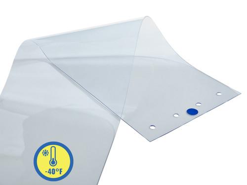 Extra Low Temp PVC Strip Door Replacement Strips