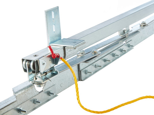 Low Temp Accordion Fold Strip Door Kit