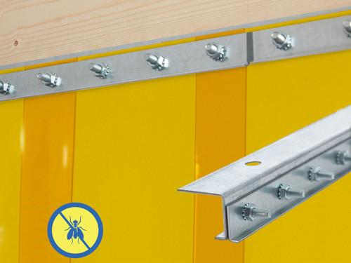 Insect Control Jamb Mount Strip Door Kit