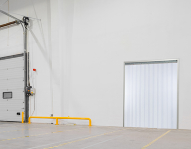 Amazing Strip Doors, Also Known As Strip Curtains, Are Flexible Doors And Barriers  Made With Overlapping Clear Or Tinted PVC Plastic Strips.