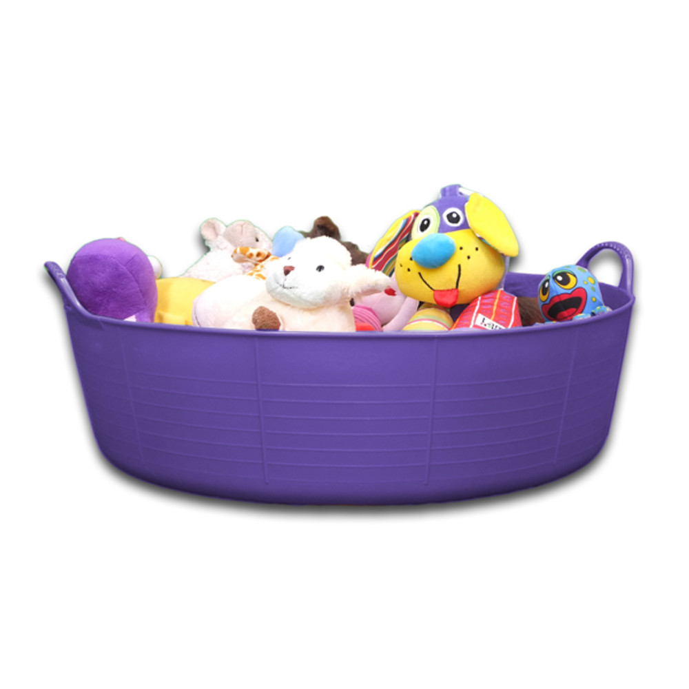 Large Shallow Tubtrugs are a great way to store toys.