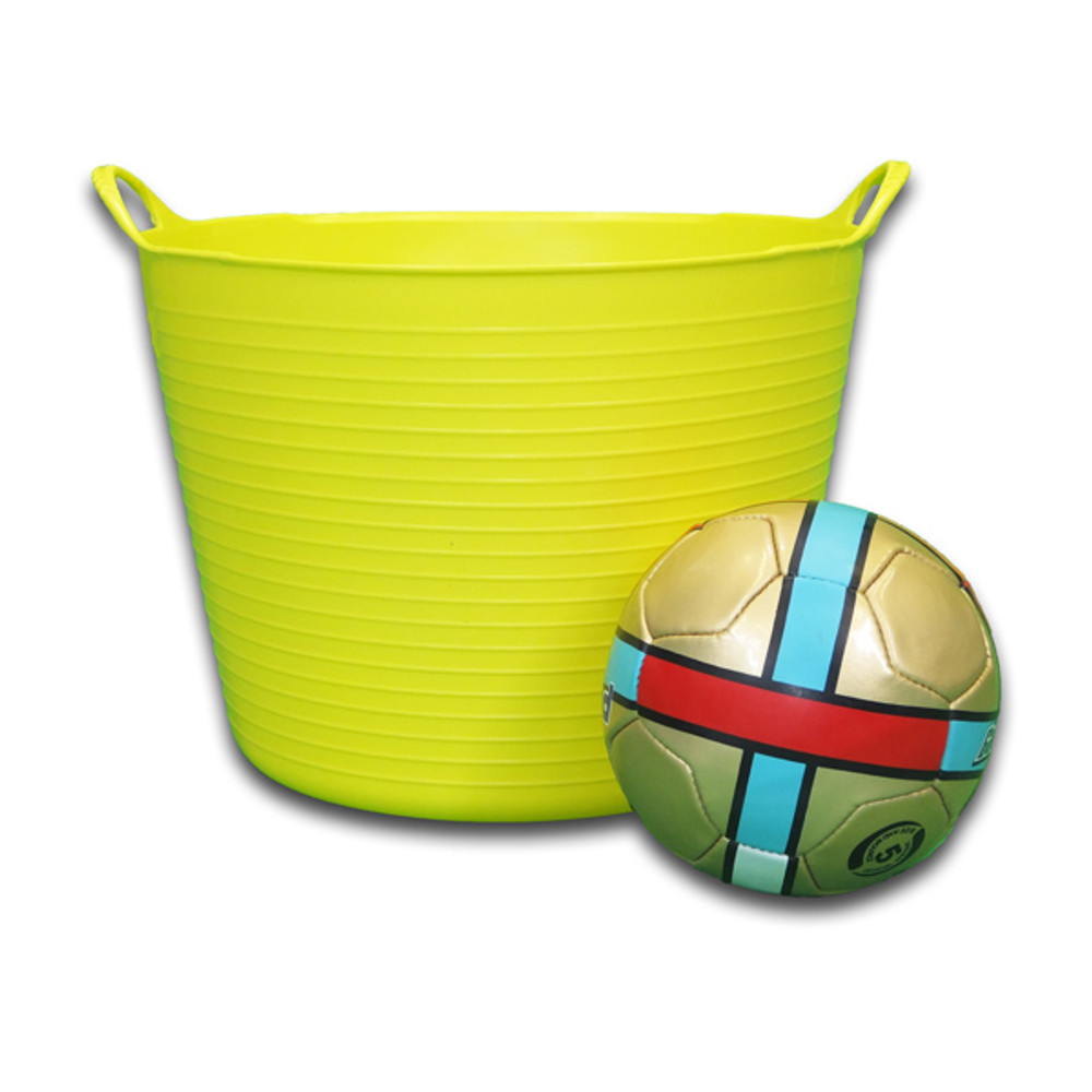 Take a Large Tubtrugs onto the field, to hold balls and other equipment.