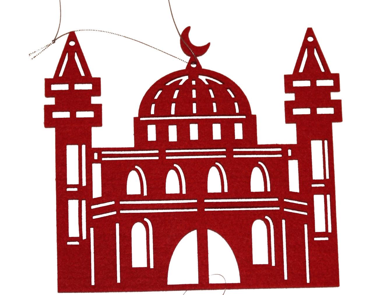 Felt Mosque Hanging