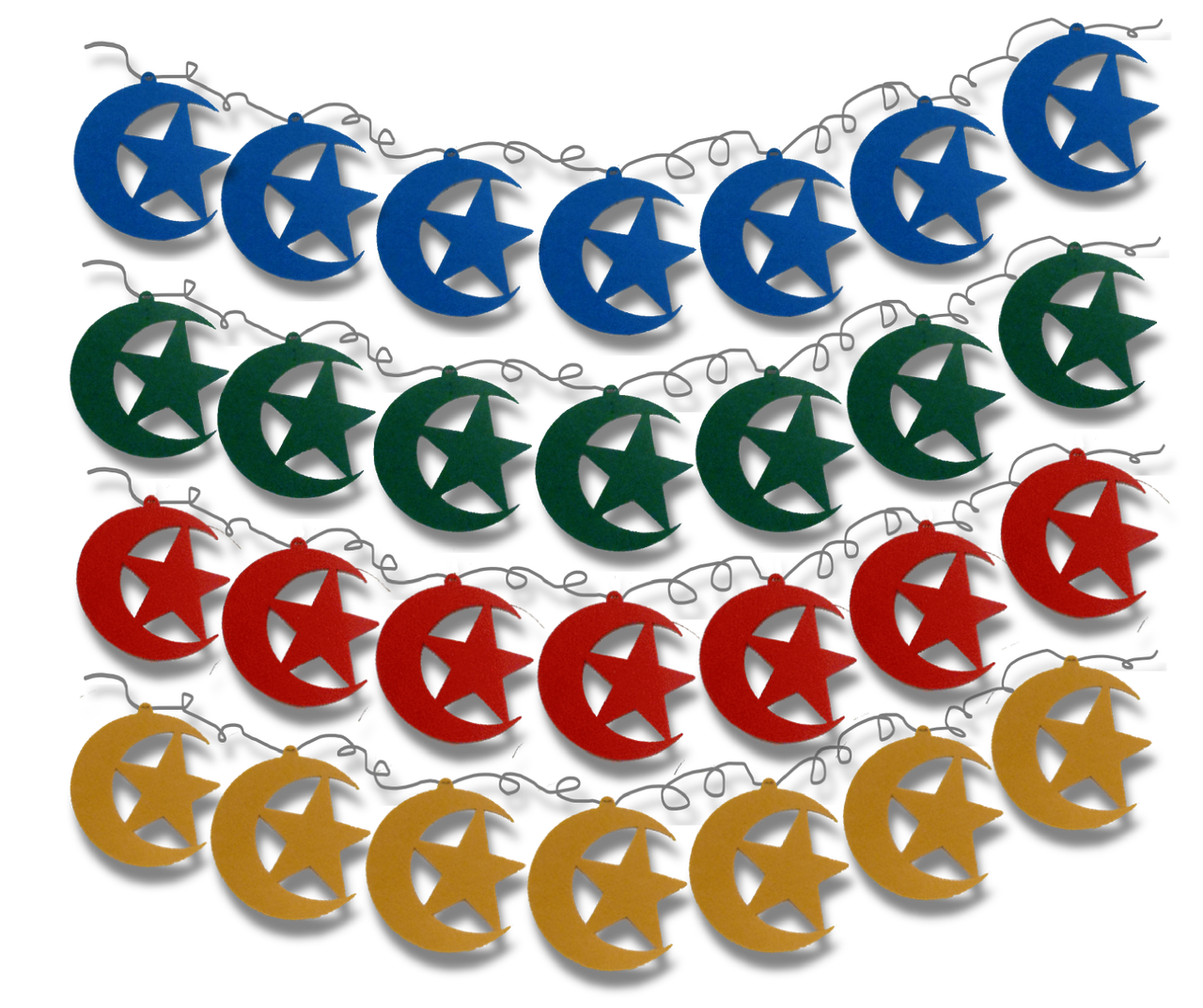 Price is per color. Please select your Color Choice. Garland is over 7 feet long.