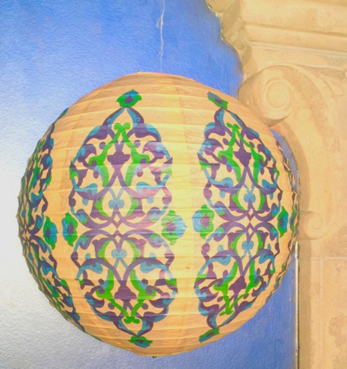 Arabesque Round Lantern