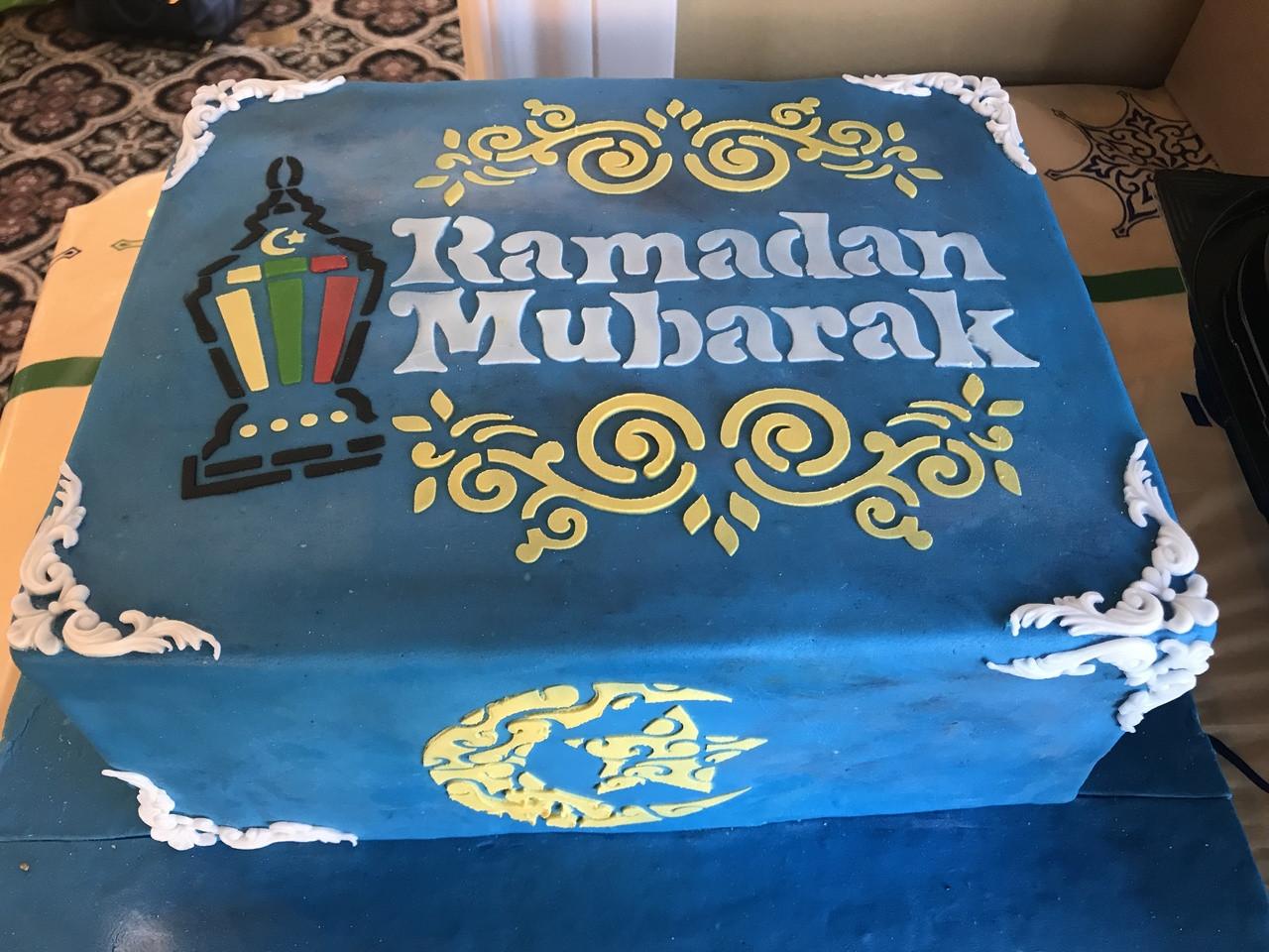 Ramadan Stencil Set of 2 (1 Arabic & 1 English)